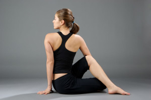 No, your back isn't tight because it needs more stretching